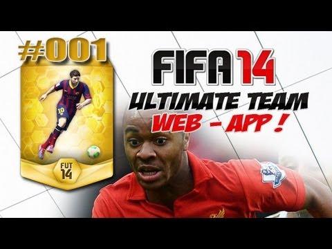 FIFA 14 ULTIMATE TEAM - #001 - Start in der Web App, Bonus Opening