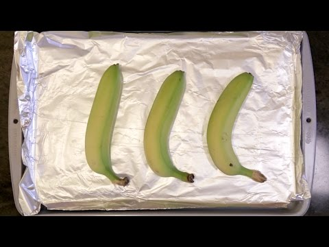 How to ripen a banana in 5 minutes