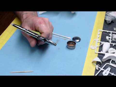 cleaning the grex tritium series airbrush