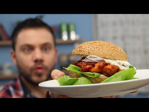 Cooking Economy [S1E1] Tomato Burger from Santorini