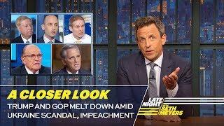 Trump and GOP Melt Down Amid Ukraine Scandal, Impeachment: A Closer Look