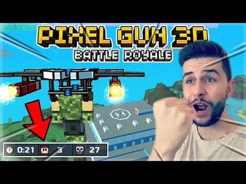 MY FIRST EVER BATTLE ROYALE VICTORY!! | Pixel Gun 3D NEW 15.0.0 UPDATE!