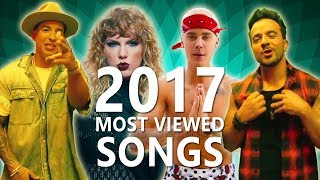 Top 50 Most Viewed Songs Of 2017 on YouTube