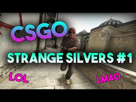 CSGO Strange Silvers #1 (CSGO Funny Moments and Highlights)