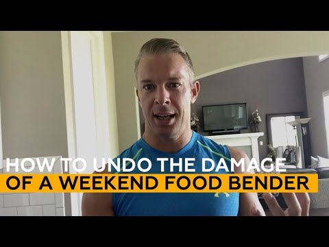 [5 Cheat Day Tricks] How to UNDO the damage of a weekend Food Bender