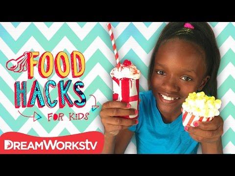 Movie Night Hacks | FOOD HACKS FOR KIDS