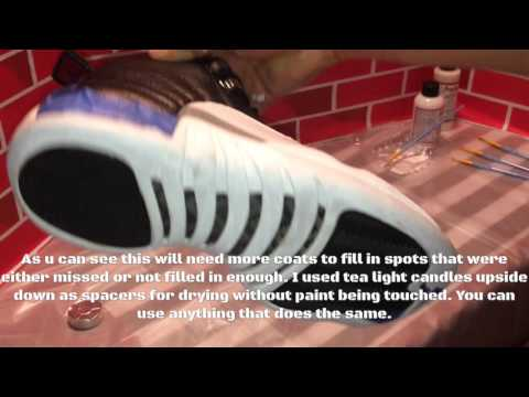 Sneaker Restoration: Jordan 12 Playoffs