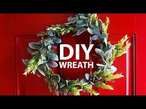 DIY| How To Make A Simple Spring and Summer Wreath