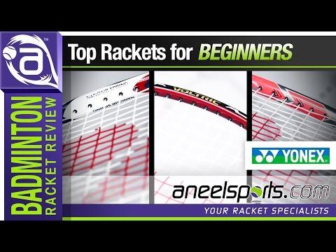 Yonex Badminton Rackets for Beginners - AneelSports.com