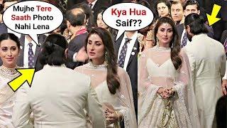 Kareena Kapoor And Saif Ali Khan Fight At Isha Ambani Wedding