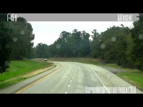 Megabus Adventure HD - Doubledecker good views - Dallas to Houston Texas