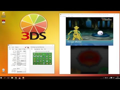 How to Create and Install Custom Pokémon Save Files in Citra