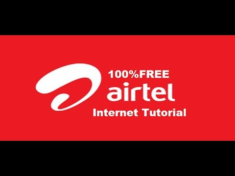 HOW TO GET FREE AIRTEL INTERNET