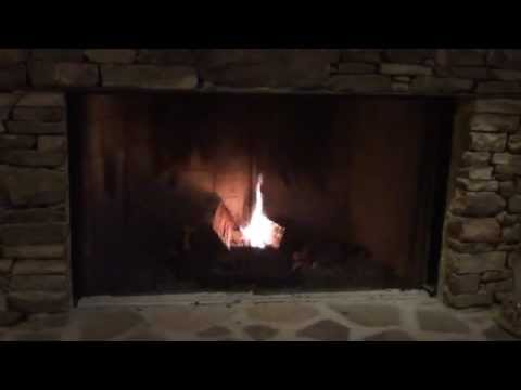 How to build a fire in your wood burning fireplace