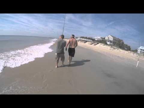 MURRELLS INLET / MYRTLE BEACH SHARK FISHING   4 1/2 FOOT SPINNER SHARK !!!