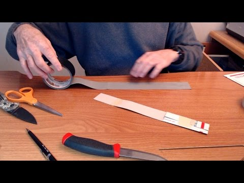 How to Make Duct Tape Sheath for Mora Knife