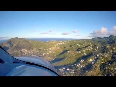 Incredibly short runway landing in Montserrat, BWI