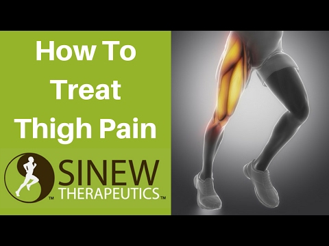 How To Treat Thigh Pain and Speed Recovery