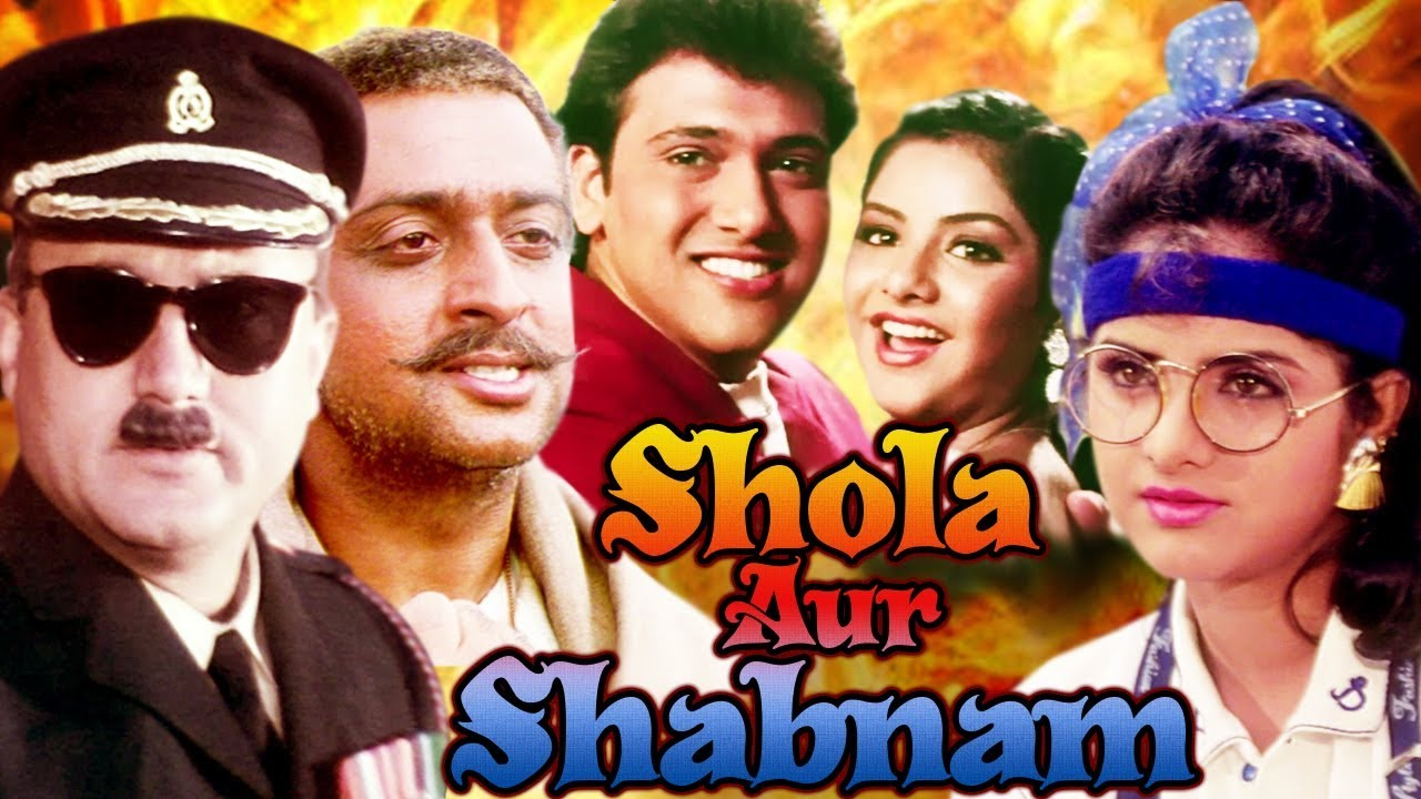 Download Shola Aur Shabnam Full Movie HD   Govinda Hindi Comedy Movie   Divya Bharti   Bollywood Comedy Movie MP3 Gratis