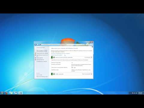 How to Add an Exception to Firewall in Windows 7 Tutorial