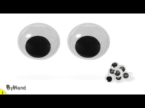How to make GOOGLY EYES craft