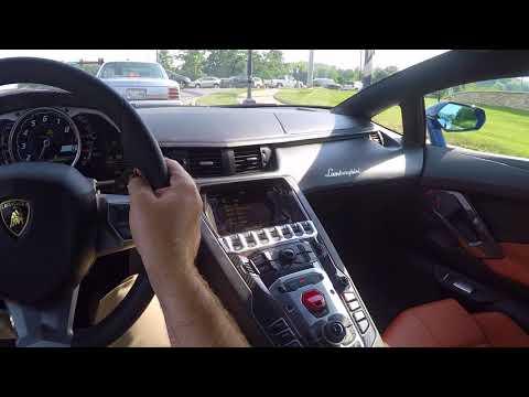 2017 Lamborghini Aventador Miura Homage POV Test Drive