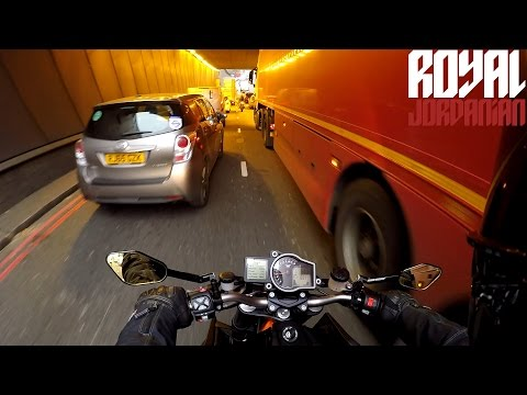London grinds to a halt and no Motorcycles figure in their plans