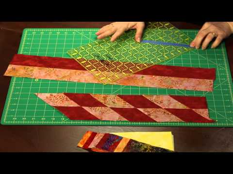 Table For 4 Place Mat Quilt Kit - Keepsake Quilting - Strip Piece Scraps Into Modern Placemats