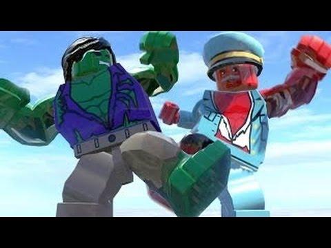 Lego Marvel's AVENGERS - Hulk and Red Hulk