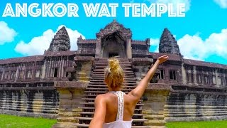 THE WORLDS LARGEST RELIGIOUS MONUMENT - THE GREAT ANGKOR WAT TEMPLE