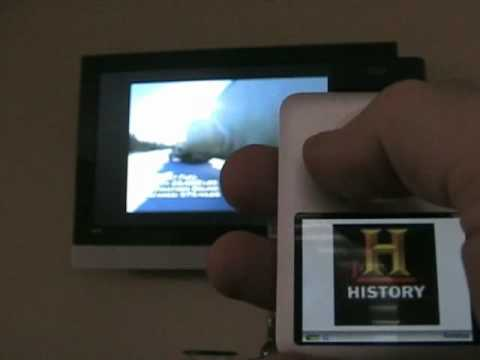 Your ipod as TV remote control