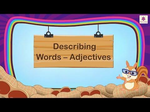 Describing Words Adjectives For Kids | Grammar Grade 1 | Periwinkle