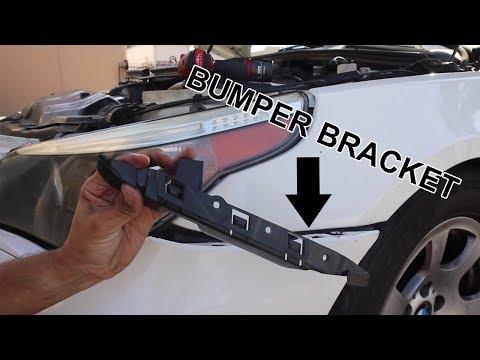 BMW 5 SERIES E60 bumper bracket replacement