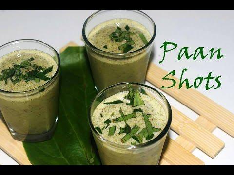 Paan Shots | Refreshing Paan Drink
