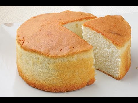How to make Sponge Without Egg, (Eggless Sponge)