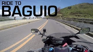 MotoVLOG: 250KM Ride to Baguio