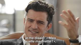 Orlando Bloom, talks about his roles - Deauville 2015