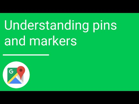 Understanding pins and markers