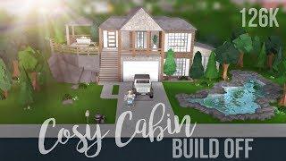 Bloxburg Cosy Cabin Build Off W Elysiane Sydney Xo 126k