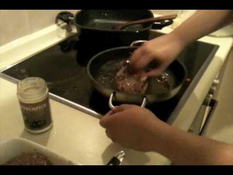 Frying a Prime Rib Steak