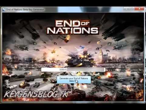 End of Nations - KeyGen