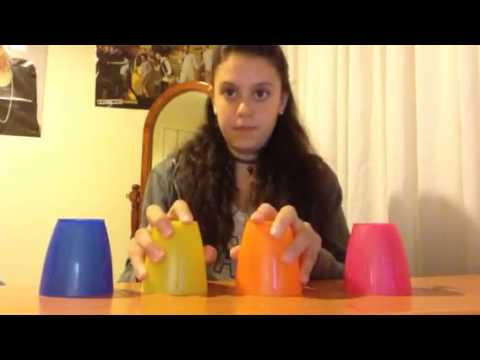How to do the cup song with 4 cups by KathyD