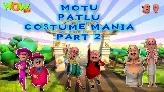 Motu Patlu Cartoons In Hindi | Animated cartoon | Motu Patlu Costume Mela | Wow Kidz