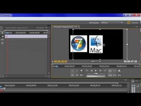 Adobe Premiere Pro CS5 Tutorial: Adding Keyframes