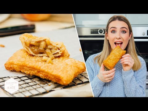 Homemade McDonald's Apple Pies - In The Kitchen With Kate