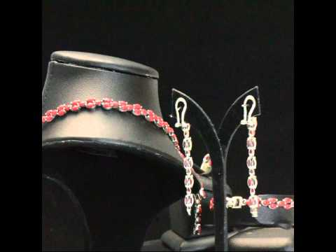 Natural Coral Indian-style Dangle Necklace Bracelet Earrings Ring Set 925 Silver