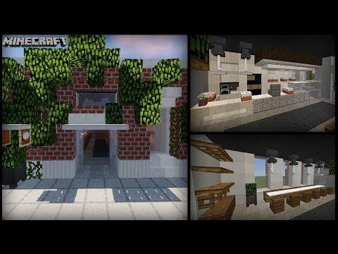 Minecraft - Hipster Bakery Cafe Tutorial!