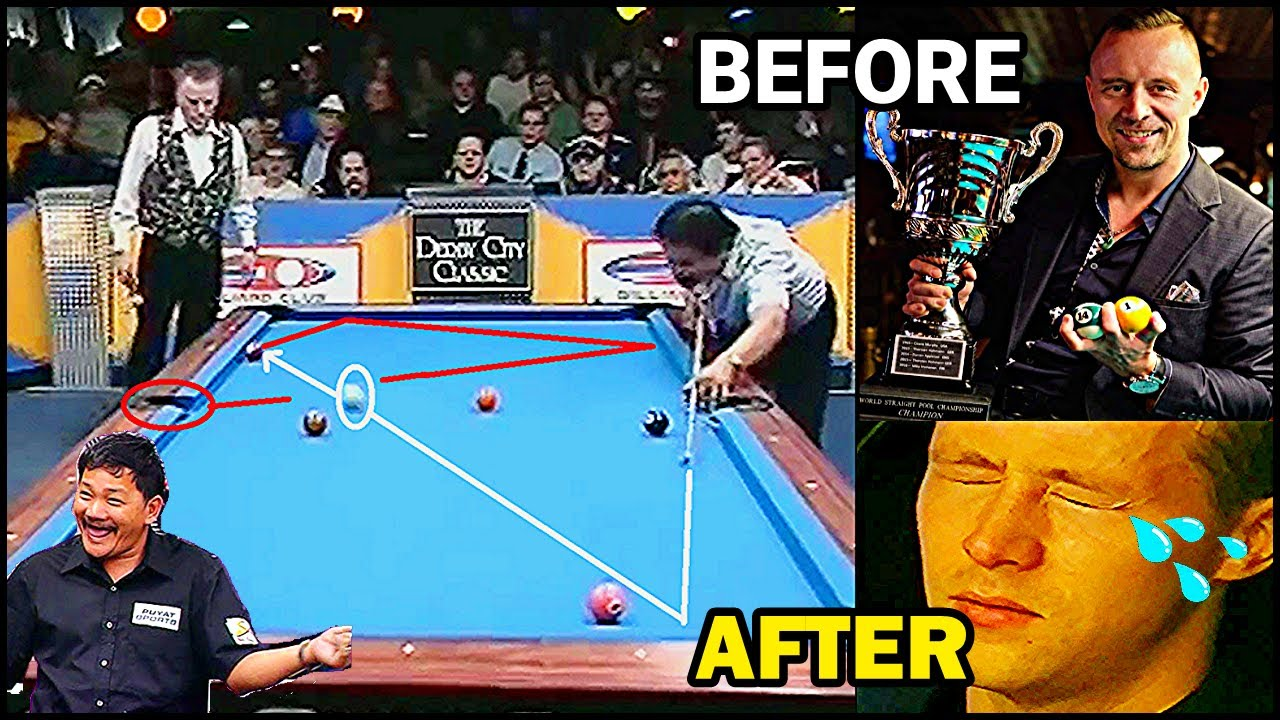THE POOL PERFECTIONIST -Efren Reyes