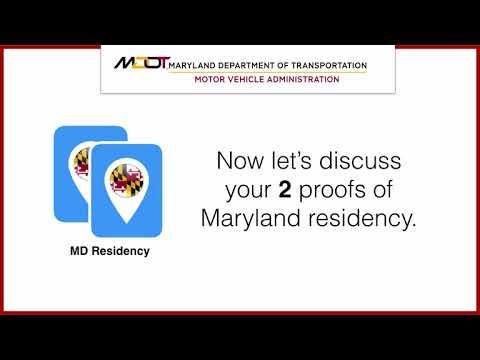 How to renew your Maryland Driver's License or ID Card