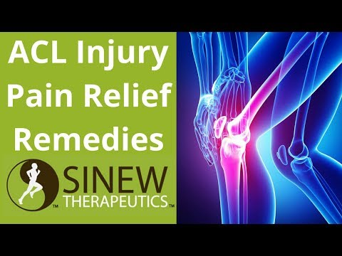 ACL Injury Pain Relief Remedies